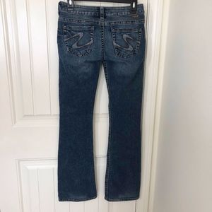 Silver Jeans Tuesday Bootcut Dark Low Rise 27x33